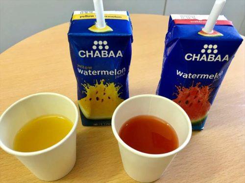 CHABAA ウォーターメロンジュース イエローウォーターメロンジュース中身