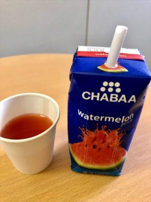 CHABAA ウォーターメロンジュース中身