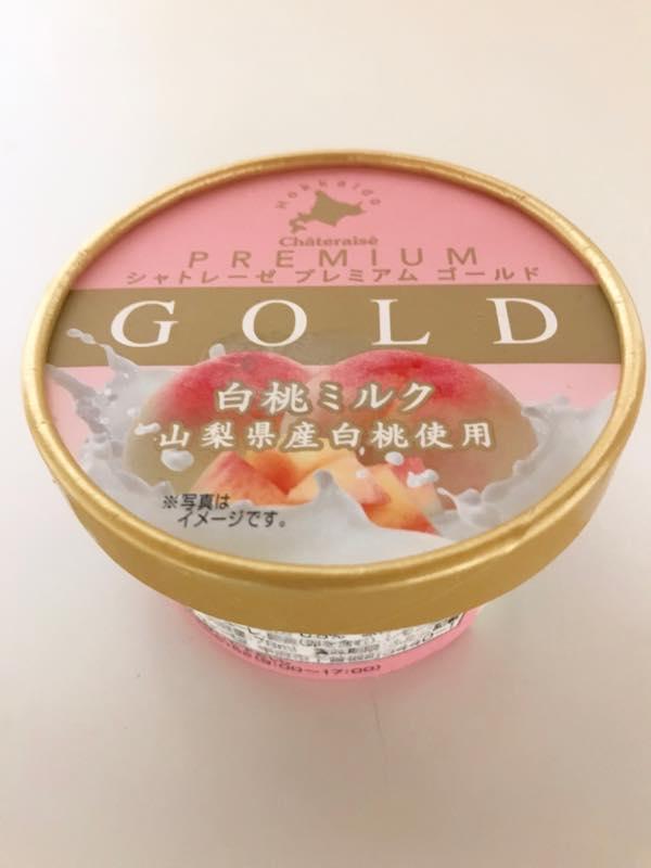 シャトレーゼ Chateraise PREMIUM GOLD白桃ミルク