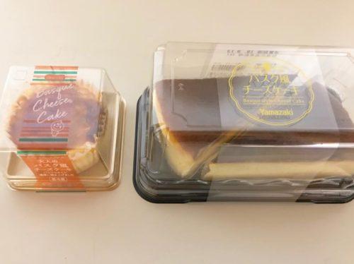 バスク風チーズケーキ ヤマザキ・ドンレミー