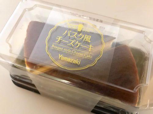 バスク風チーズケーキ ヤマザキ