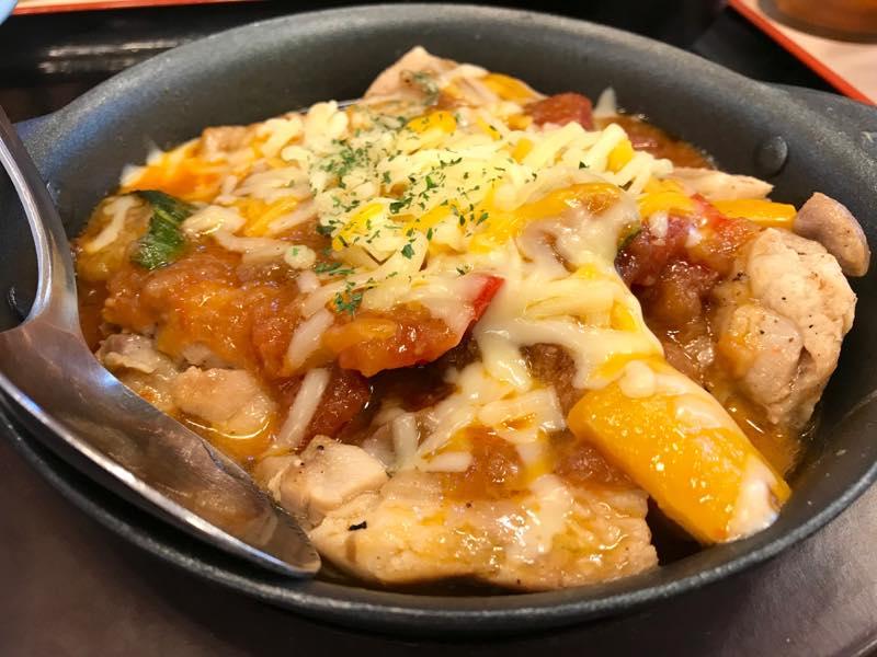松屋 カチャトーラ定食アップ